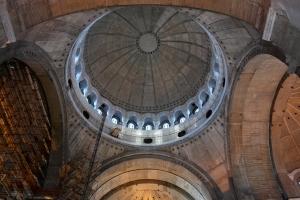 La cupola dall'interno