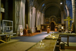 La cappella provvisoria