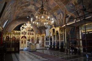 L'interno della Chiesa Ruzica