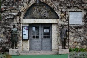 L'entrata della Chiesa Ruzica