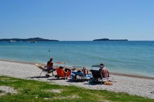 La spiaggia di Fasana