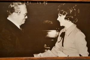 Una delle tante foto del museo dedicato aTito
