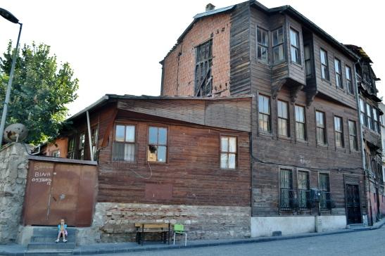 Case di legno ottomane a Zeyrek