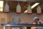 La cucina a vista del Palmenhouse
