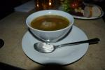 Zuppa della casa al Cafè Leopold