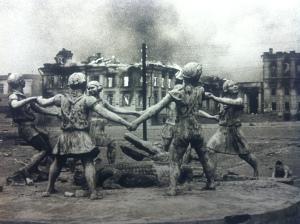 """Il girotondo dei Bambini"", Stalingrado, 23 agosto 1942"