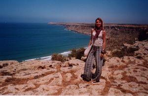 Estate 2002, sulla costa atlantica del Marocco