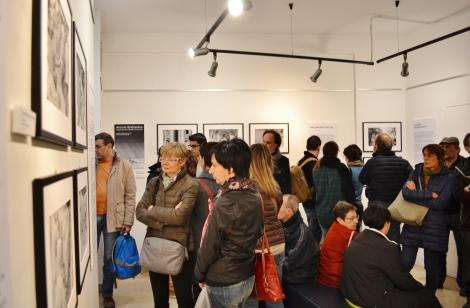 Il pubblico della mostra